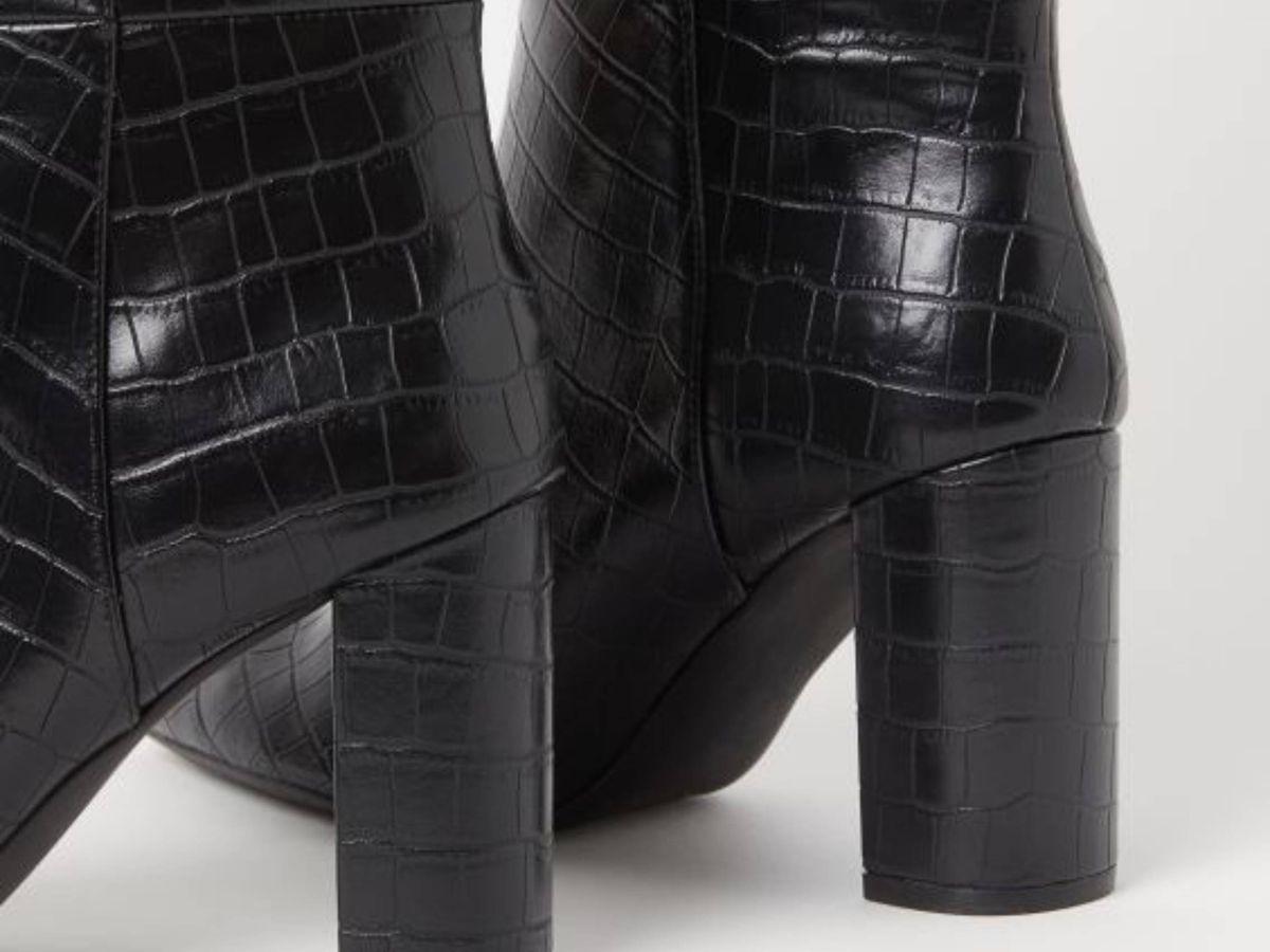 Foto: Las botas efecto coco de HyM. (Cortesía)