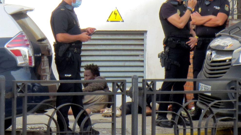 Un migrante muerto y 6 heridos, 3 de ellos guardias, en un salto a la valla de Melilla