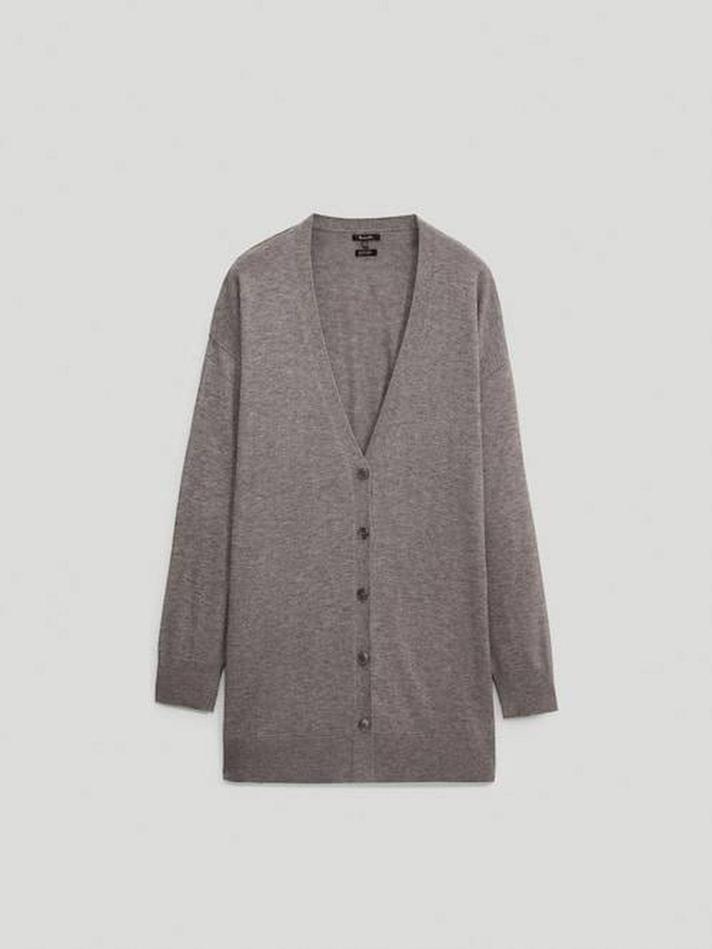 La chaqueta del look de Massimo Dutti. (Cortesía)