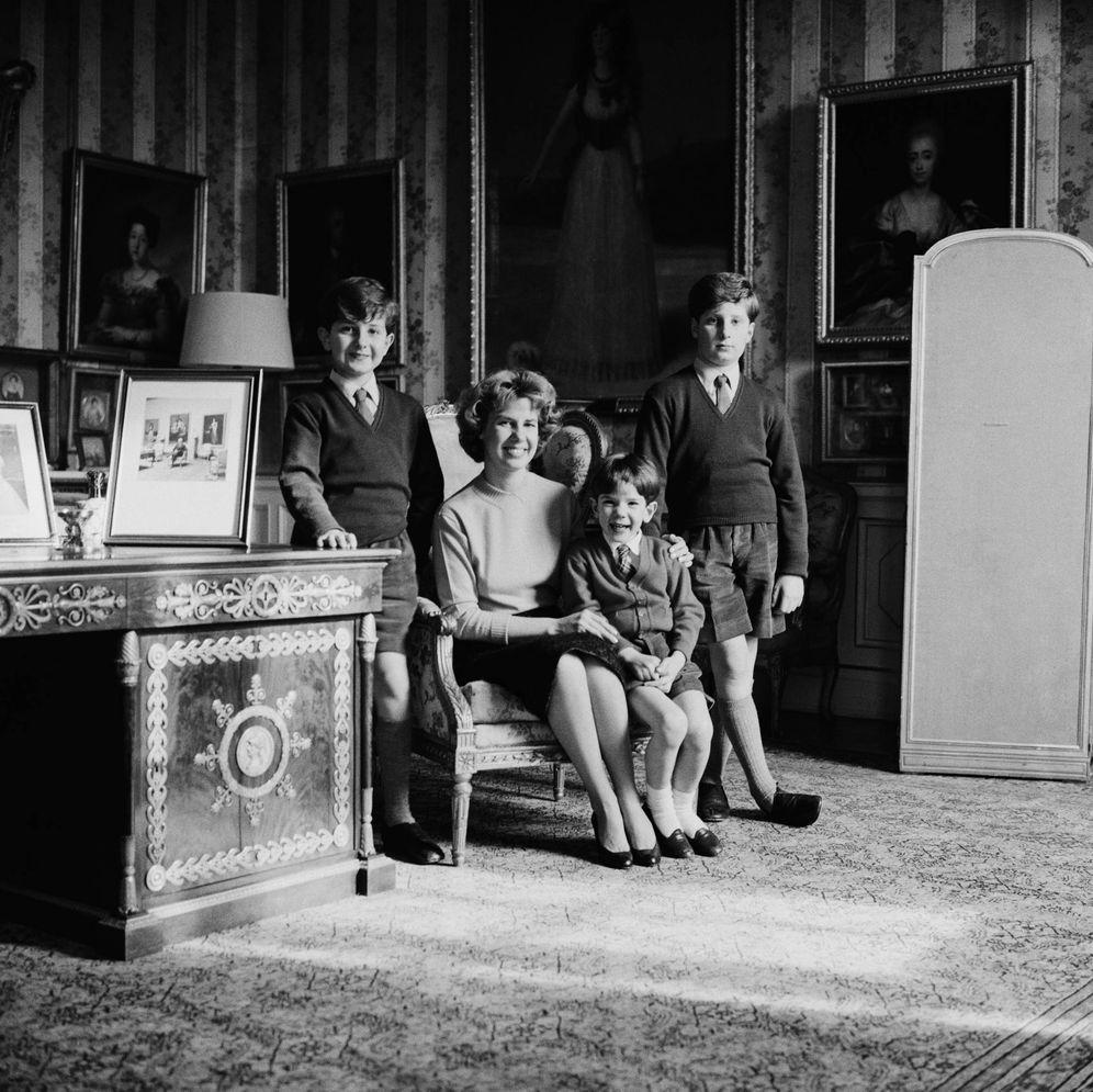 Foto: Cayetana y sus hijos en una foto de archivo de Getty.