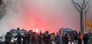 Post de Heridos cinco aficionados del Olympique de Lyon en Barcelona
