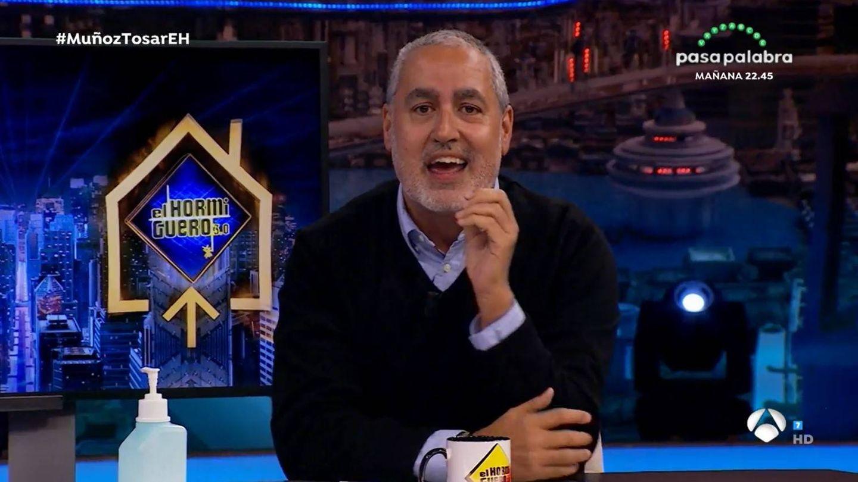 Jorge Salvador, en 'El hormiguero'.