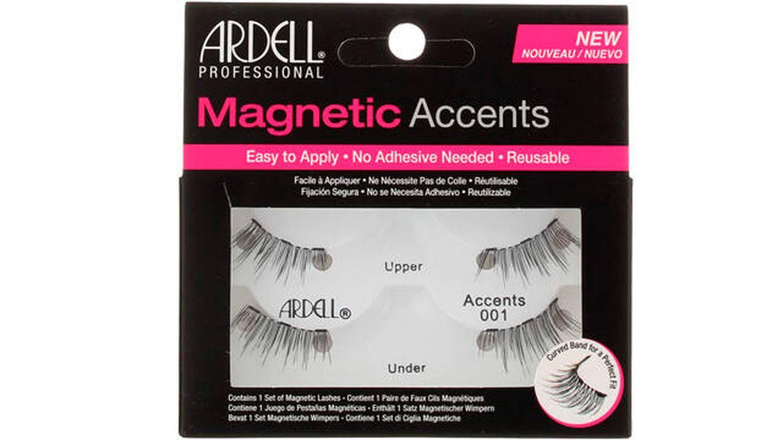 Pestañas magnéticas Ardell largas y onduladas