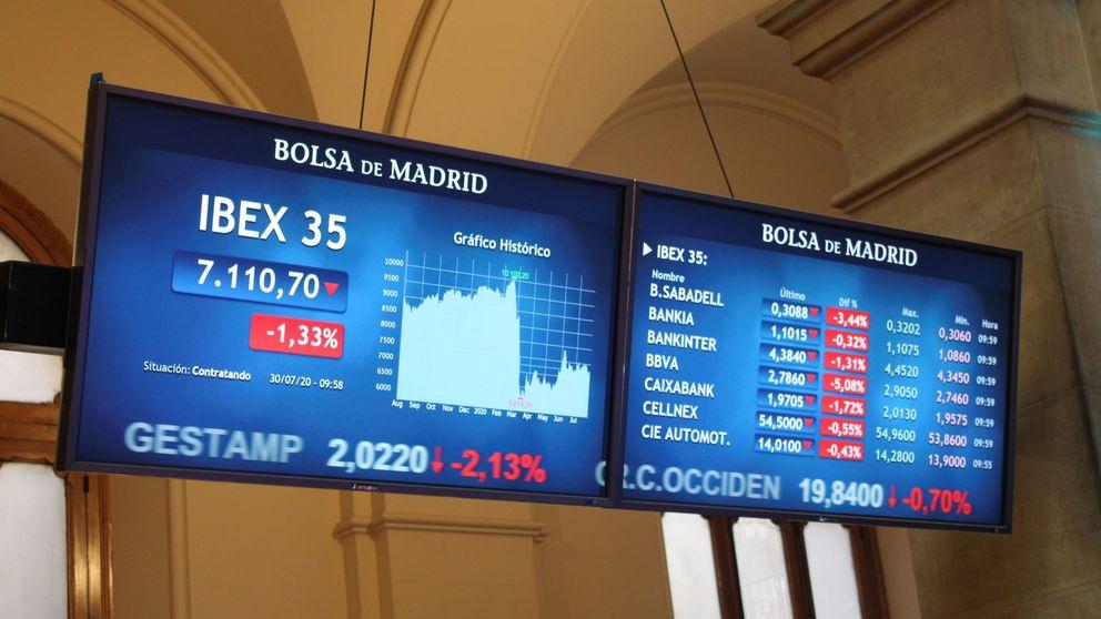 BBVA y el resto de bancos caen con fuerza y lastran al Ibex el 3%: pierde los 7.000