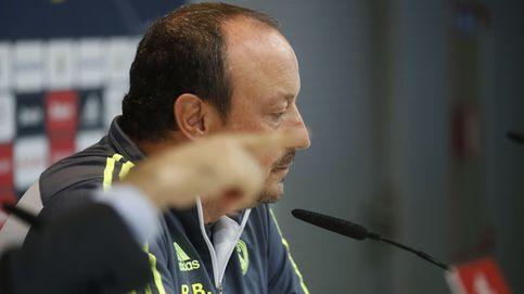 Florentino espera en la retaguardia para ultimar a un maltrecho Rafa Benítez