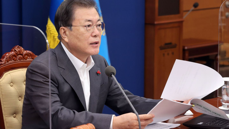 El presidente Moon Jae-in. (EFE/EPA/Yohnap)