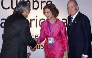 Juan Carlos, Sofía, Lisboa