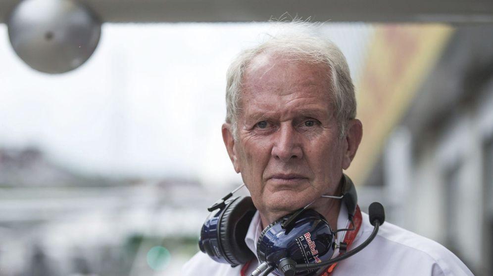 Foto: Helmut Marko defiende que la mujer no puede llegar a la F1. (EFE)