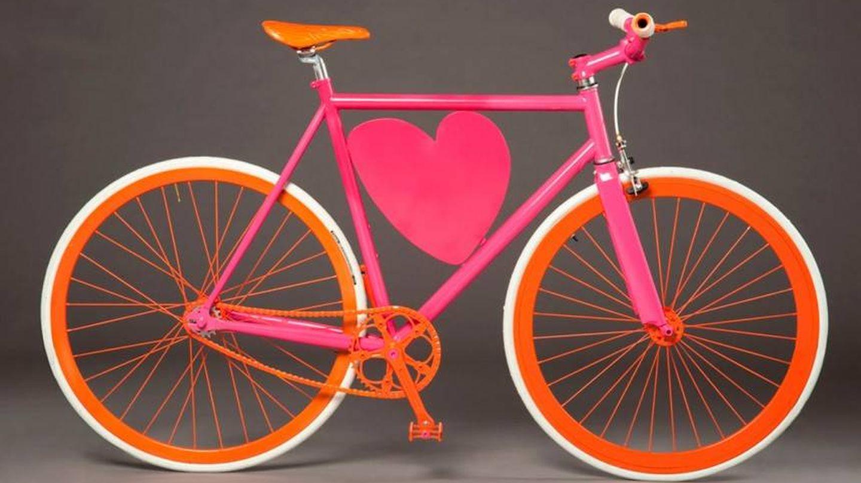 Bicicleta diseñada por Ágatha Ruiz de la Prada