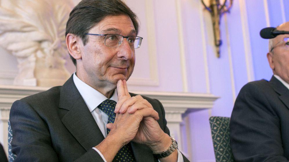 Foto: José Ignacio Goirigolzarri, presidente de Bankia, este miércoles en Santander. (EFE)
