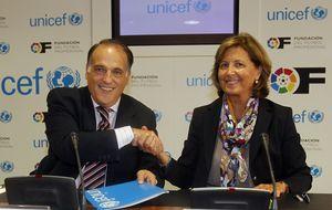 La Liga y Unicef acuerdan la celebración del partido solidario 'Champions for Life'