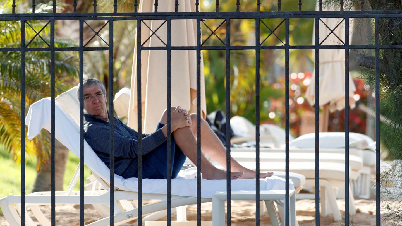 Uno de los turistas aislado en el hotel H10 Costa Adeje de Tenerife. (Reuters)