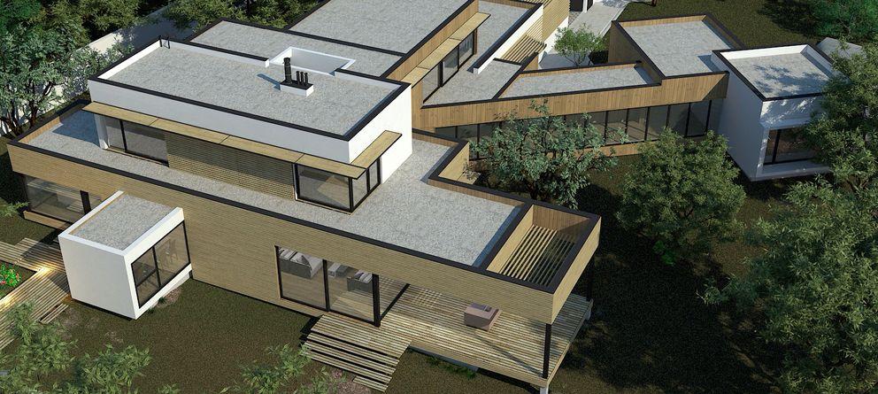 La casa de madera m s grande de espa a fotogaler as de vivienda - Casas de madera en espana ...