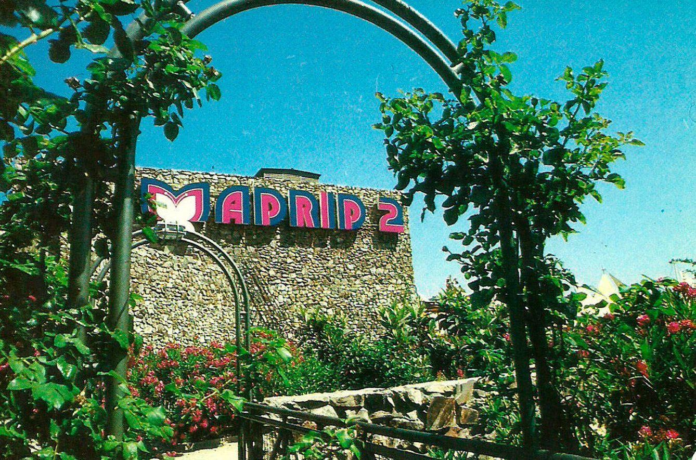 Foto: Aspecto del exterior de La Vaguada en los años 80