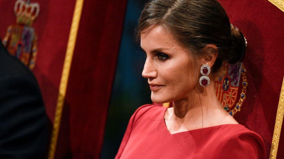 Foto: La reina Letizia, en los Premios Princesa de Asturias. (EFE)