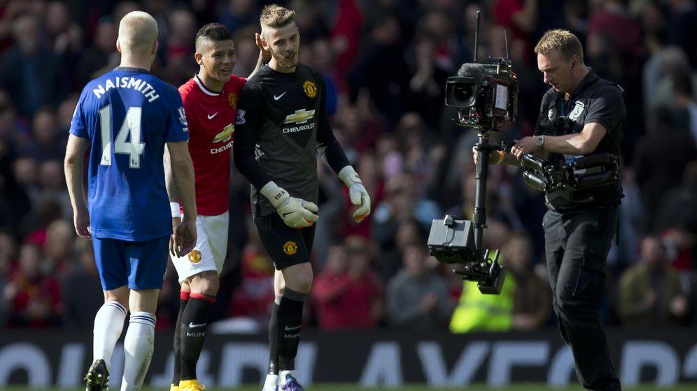 Foto: David de Gea, guardameta del Manchester United.