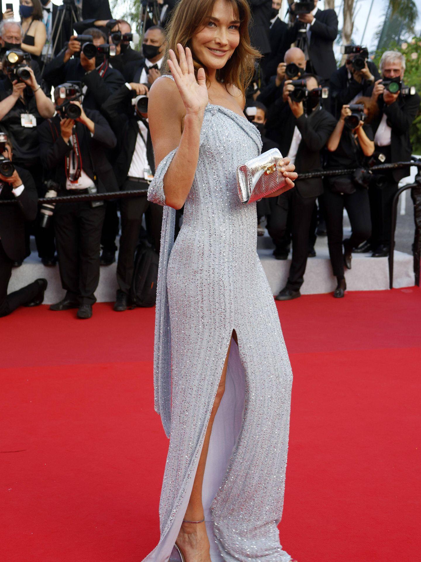 Carla Bruni, en Cannes. (Reuters)