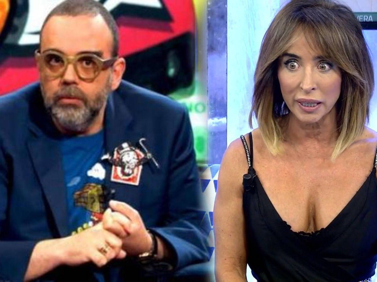 Foto: Bob Pop y María Patiño. (Movistar y Telecinco)