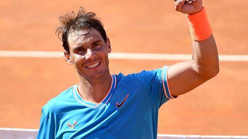 Rafa Nadal doblega a Novak Djokovic en la final del Masters 1.000 de Roma