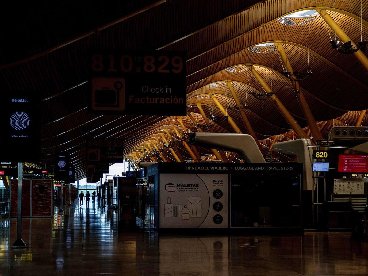 Foto: Aeropuerto de Adolfo Suárez en Madrid.