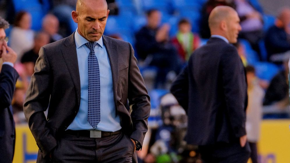 Foto: El entrenador de la Unión Deportiva Las Palmas, Paco Jémez. (EFE)