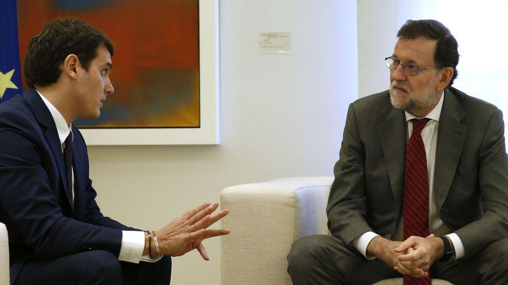 Foto: Mariano Rajoy y Albert Rivera en una imagen de archivo. (EFE)