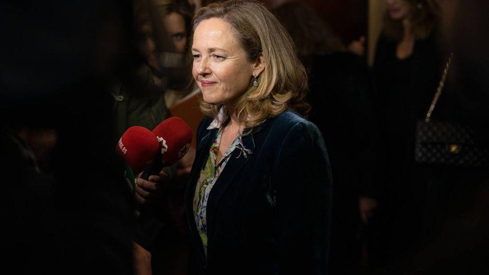 Foto: Nadia Calviño, vicepresidenta económica del Gobierno.
