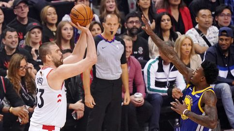 El partidazo de Marc Gasol con los Raptors hunde a los Warriors de Curry