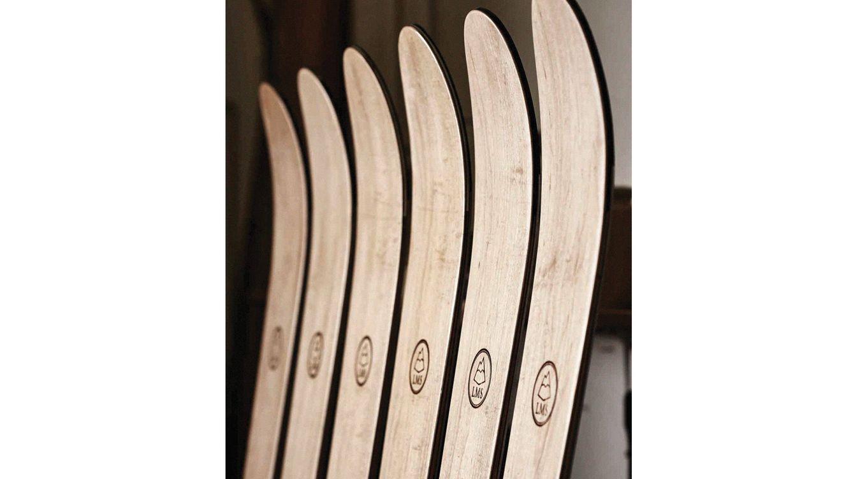 Foto: Empresas-talleres como Zai, suiza; la americana Wagner Custom y LMS, de Escocia, permiten personalizar cada esquí a gusto del cliente.