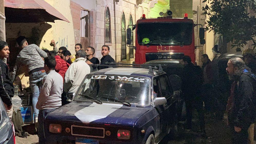 Foto: Lugar del atentado. (EFE)