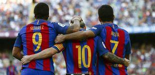 Post de El Betis es la primera víctima de un Barça que comienza en plan tirano