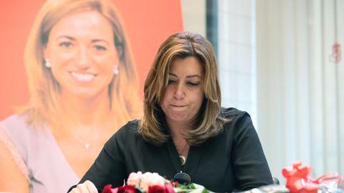 Chacón reúne a todo el PSOE en su adiós pero no diluye el muro de Sánchez y Díaz