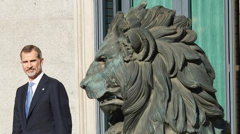 Del 'rey león' a la paloma de la paz: 8 imágenes insólitas del día de la Constitución