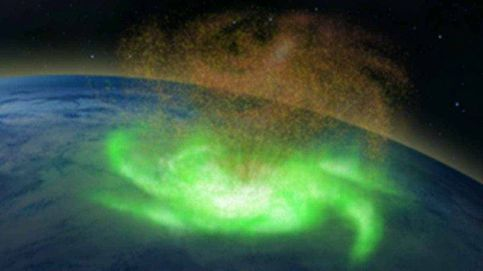 Avistan sobre la Tierra un 'huracán espacial' por primera vez en la historia