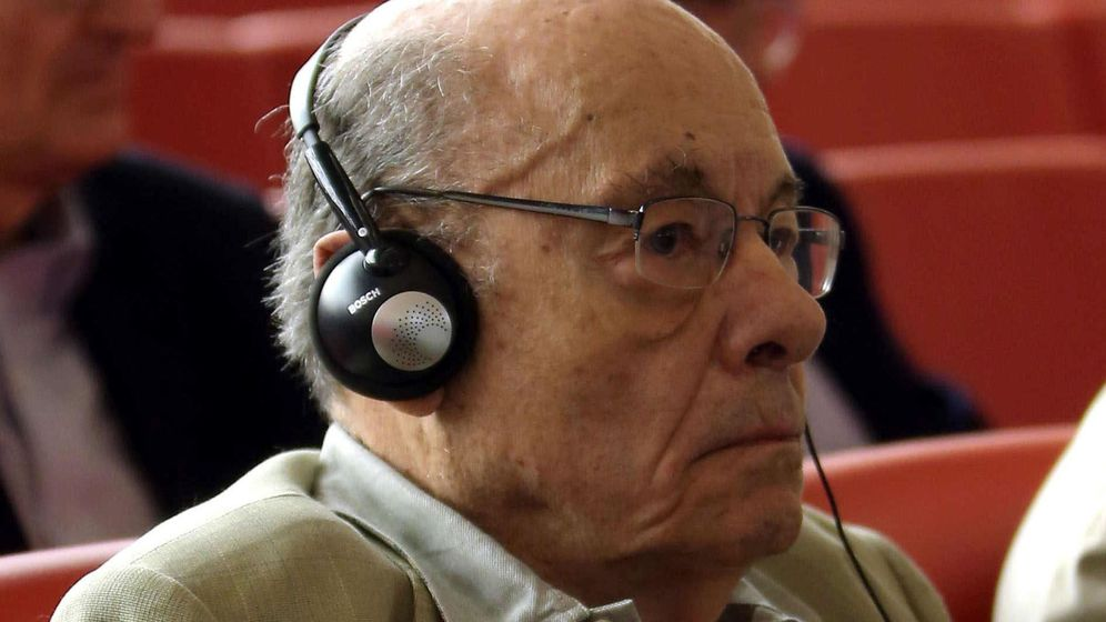 Foto: El expresidente del Palau de la Música Félix Millet. (EFE)