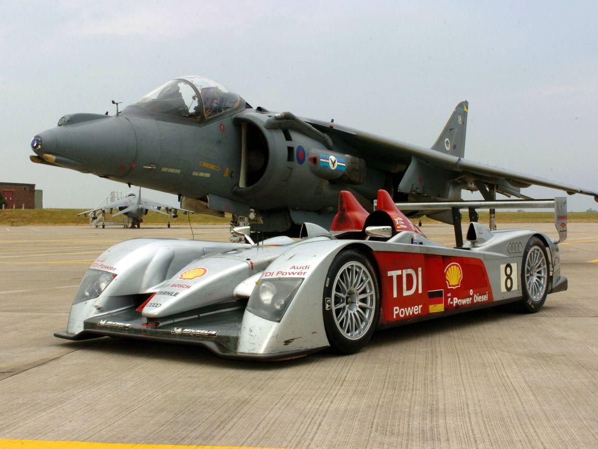 Foto: El Audi R10 TDI fue el primer coche con motor diésel que ganó en Le Mans.