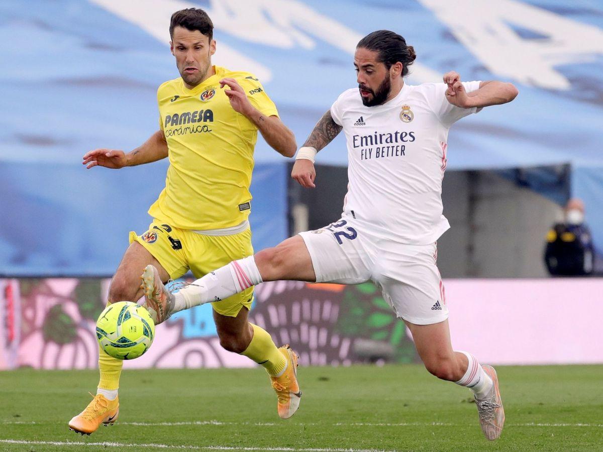 Foto: Isco en el partido del Real Madrid contra el Villarreal. (Efe)