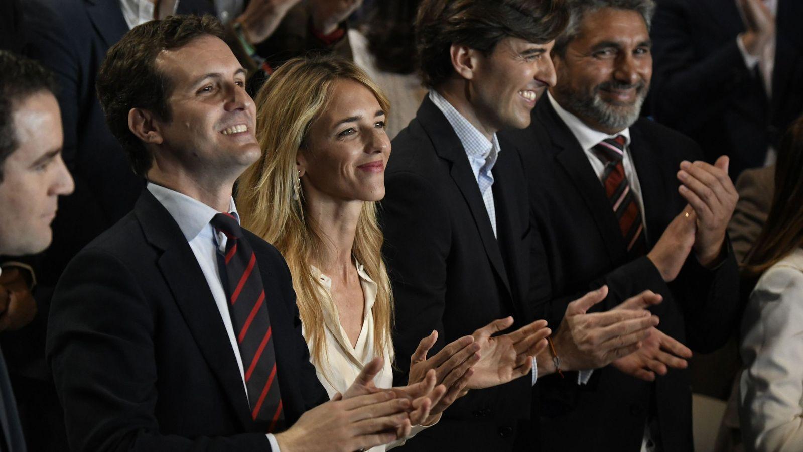 Foto: Pablo Casado presenta a los cabeza de lista del partido para las próximas elecciones generales. (EFE)