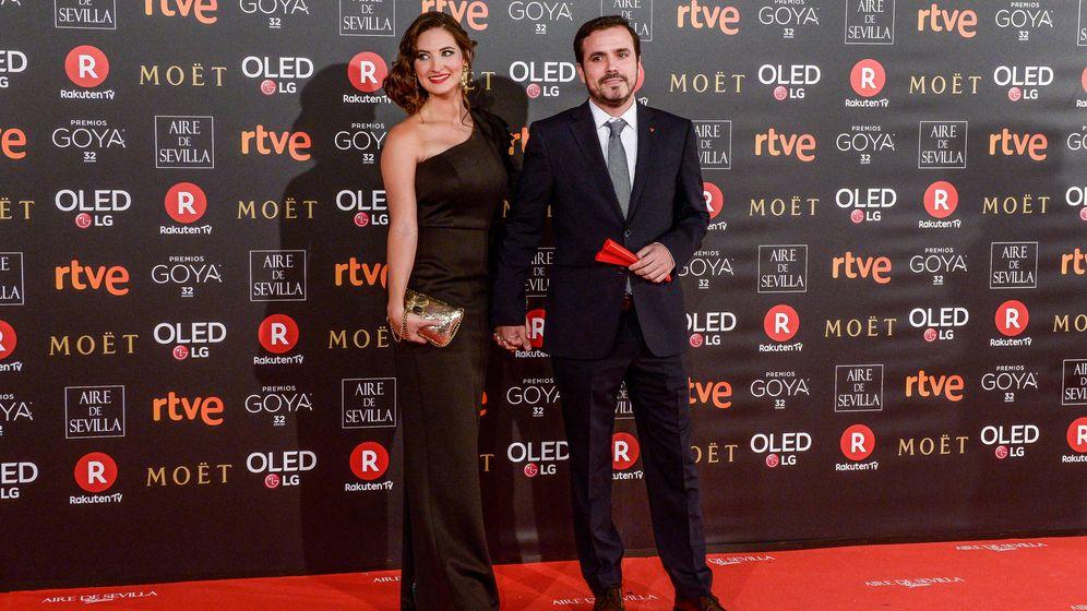 Foto: Alberto Garzón y Anna Ruiz. (Getty)