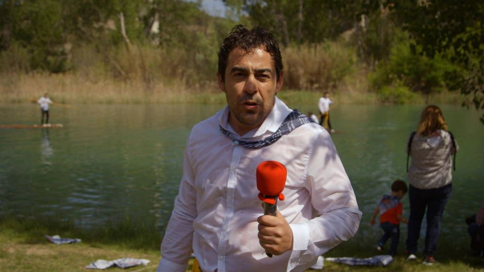 Foto: Pablo Chiapella, en la primera temporada de 'El paisano'. (RTVE)
