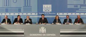 Foto: Botín 'indulta' a Zapatero por su gestión al frente de la crisis