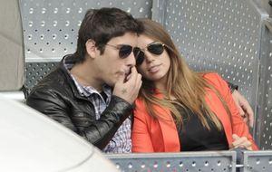 Elena Furiase y su novio Leo, amor en las gradas