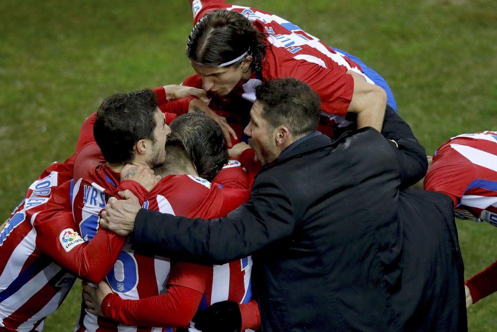 Foto: Simeone cree en una histórica remontada ante el Real Madrid. (EFE)
