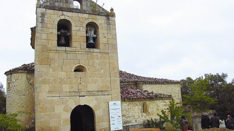 Iglesia de Santa María de Torrentero, cuya nave data del siglo XII, antes del robo de las campanas.