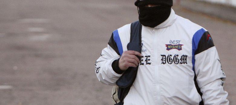 Foto: Miguel Ricart, a su salida de la prisión de Herrera de La Mancha. (EFE)