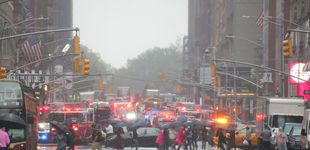 Post de Un helicóptero se estrella en la azotea de un edificio en Nueva York