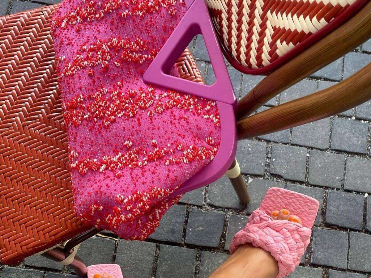 Foto: El bolso Point de Bottega Veneta. (Instagram @polliani)