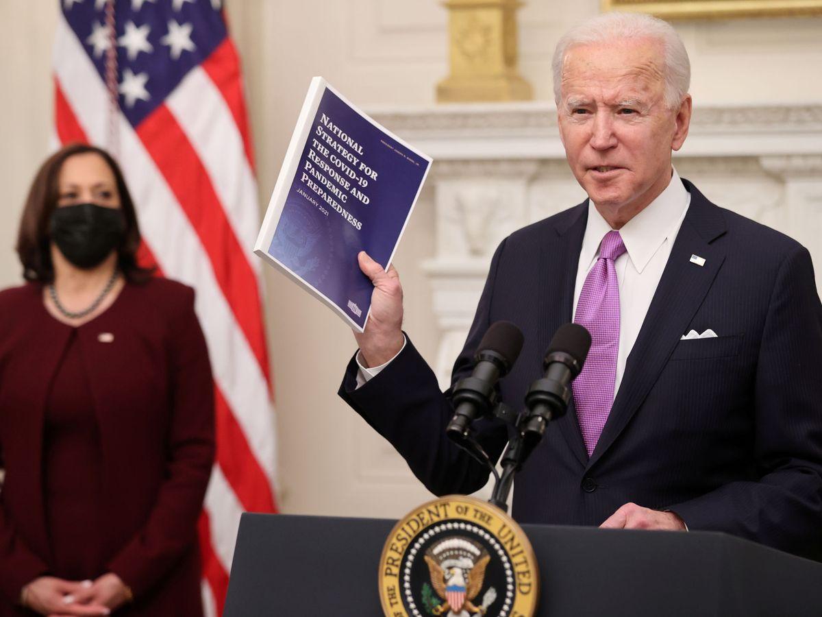 Foto: El presidente estadounidense, Joe Biden. (Reuters)