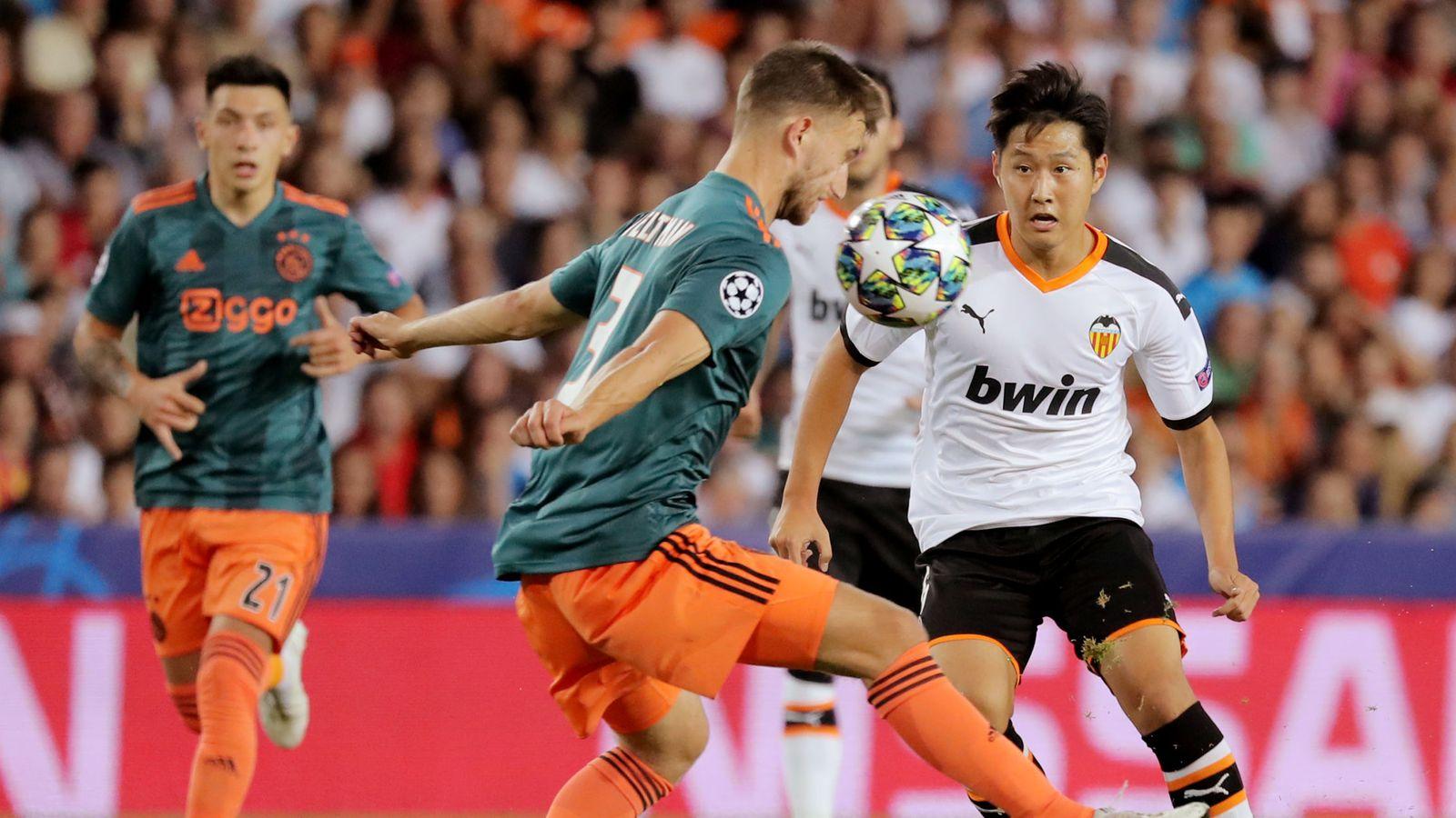 Valencia Ajax