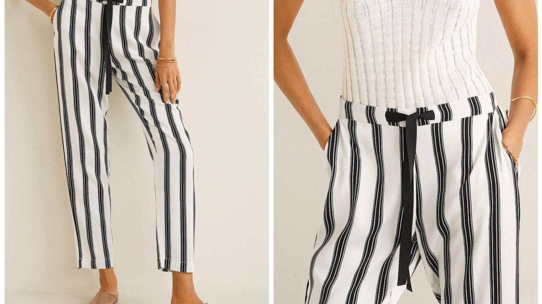Los nuevos pantalones de Mango Outlet. (Cortesía)